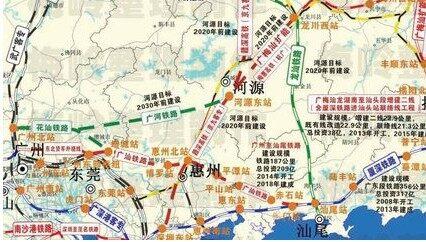 惠东十三五交通规划建设最新消息