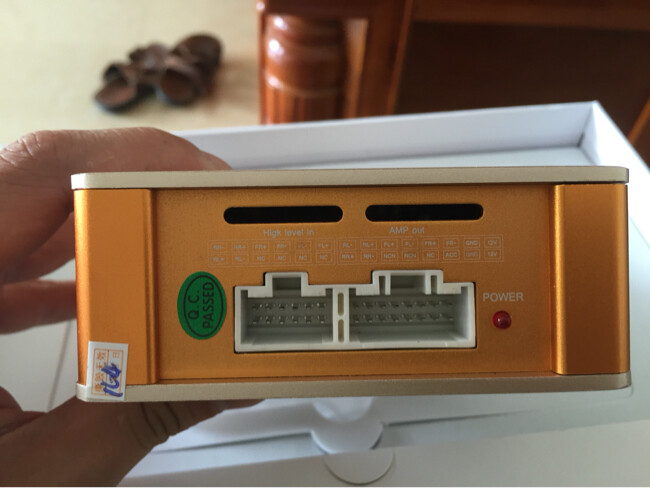 御音DSP音箱均衡器 专车专用不改原车任何线 车集市