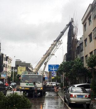 """""""海马""""来袭,惠东抗击超强台风第一现场"""