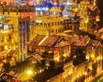 仿如身处梦境,沉醉在越夜越美丽的重庆山城