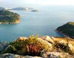 玉桂山观赏无敌大海景,碧蓝的海湾尽收眼底