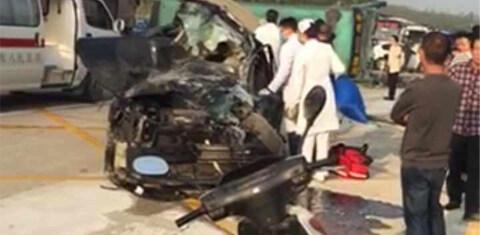 恐怖!吉隆海丰客车交通事故,3人不幸身亡