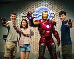 遇见钢铁侠!香港迪士尼乐园我来啦啦啦啦!