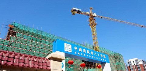大亚湾万达广场已建到第5层