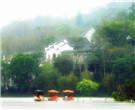山色空濛雨亦奇,慢门拍拍雨雾中的惠州西湖