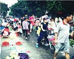 龙丰菜市场热闹非凡,处处是浓郁的生活气息