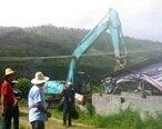 惠东多祝打击非法养猪场,拆除近一千多平方