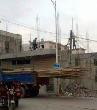 江北乌石房地产掀起热潮,有居民非法抢建?