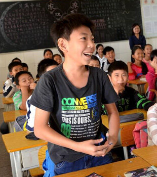 """特别的课堂,教会了潼湖这些孩子""""打电话"""""""