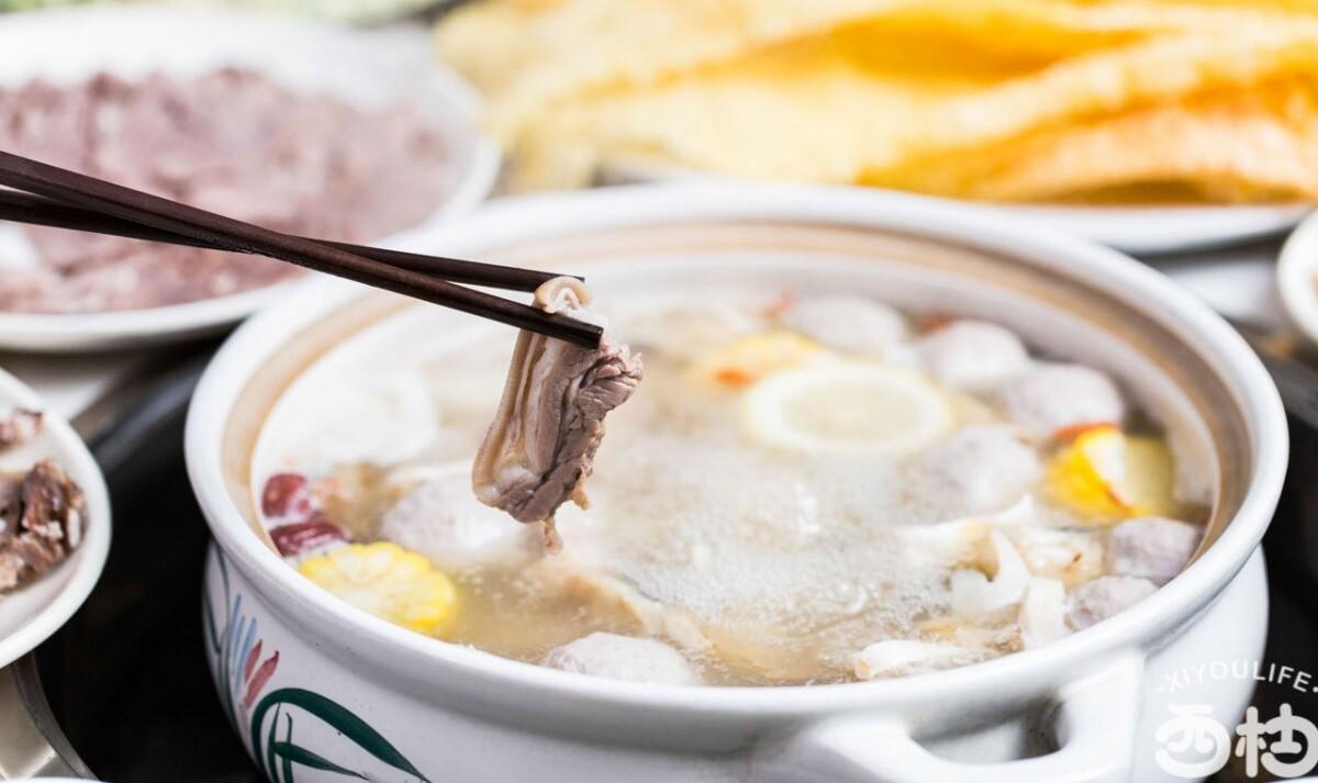这锅19年的汕头清炖羊肉,超级实惠又美味!