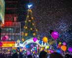 上万人齐聚这里,见证惠州第一场唯美的飘雪