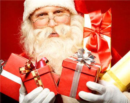 快来!圣诞老人要给你家的小朋友送礼物!