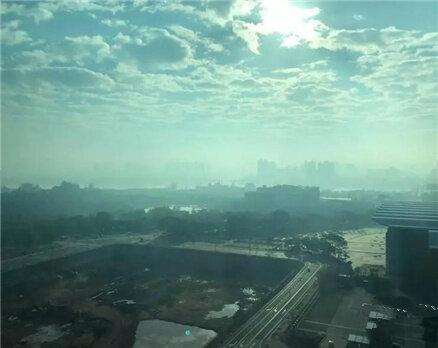 标҈题҈被҈雾҈挡住了,惠州将迎来阴雨雨雨