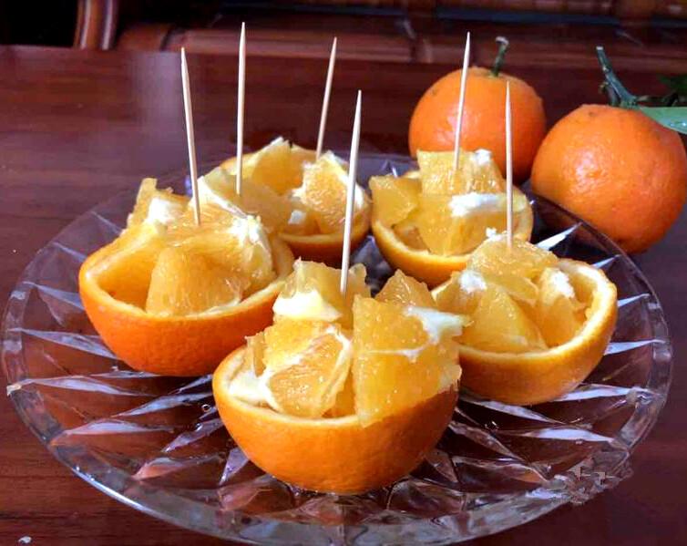想知道如何优雅地切橘子吗?还有这种方法!