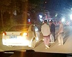 发生事故后,听到我们要报警结果对方逃逸了