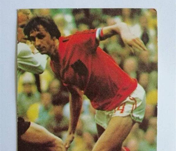 三十年前世界杯明信片,那是我们逝去的青春
