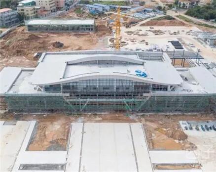 惠州有个新客运站快建好了,预计10月开始运营