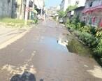 太浪费水资源了,大岭这条街水管漏水几个月