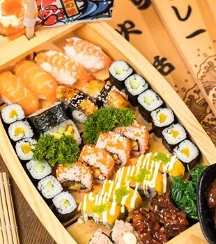 平价霸气的寿司船!平均3.5元一粒超抵吃!