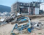一片狼藉,房屋倒塌!台风过后双月湾成了这模样