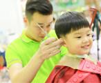 惠州这家专业儿童理发进店就是游乐场!