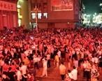 八月十五中秋夜之高潭人民的舞龙盛会。