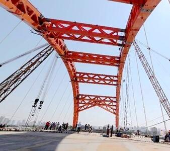 隆生大桥主桥合龙,12月底具备通车条件