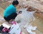 惠东这里自来水管爆裂,自来水浪费半个多月,不心疼?
