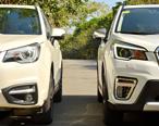 日系越野SUV新旧版对比