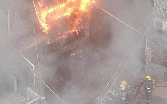 惠州一居民楼大火后续:一名93岁老人遇难