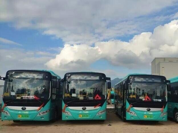 好消息!大亚湾188线、138B线更新为新能源公交车