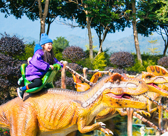 占地40万㎡!惠州终于有超真实的恐龙园了