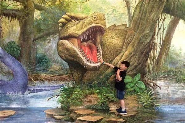 侏罗纪恐龙展空降惠州,快带孩子来骑恐龙