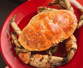 惠州老巷里的虾店,有道比脸大的面包蟹!