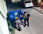 我的三轮车刚停就被偷了,有认识此人的吗