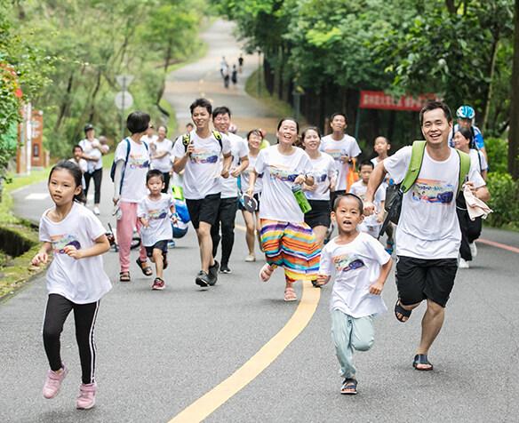 超燃!2019年惠州六一亲子跑,现场超级好玩