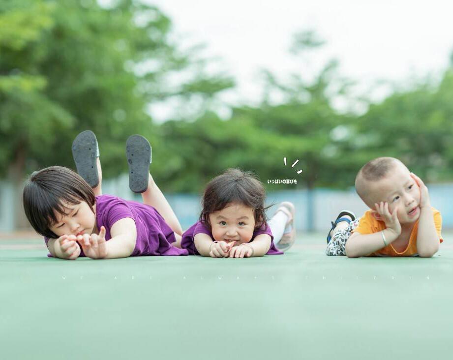 记录孩子纯真的童年,父母是最好的摄影师