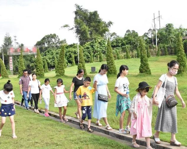 仲恺20组家庭一起探寻了潼湖古村落的秘密