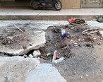 修排水管道却把路挖烂,陈江这条路好难走