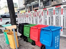 在惠东看见了各种垃圾桶,要垃圾分类了?
