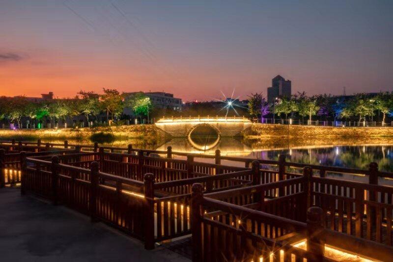 惠州这个公园大升级,记得来看灯