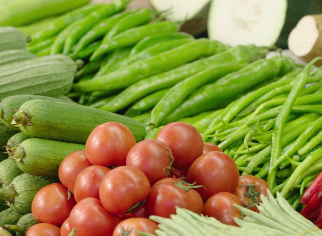 这里不用出门,就可以买到新鲜蔬菜、肉类