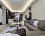 方直星耀125㎡3居室,极致舒适的现代轻奢