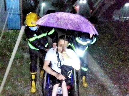 受强暴雨影响,惠东513人被紧急转移
