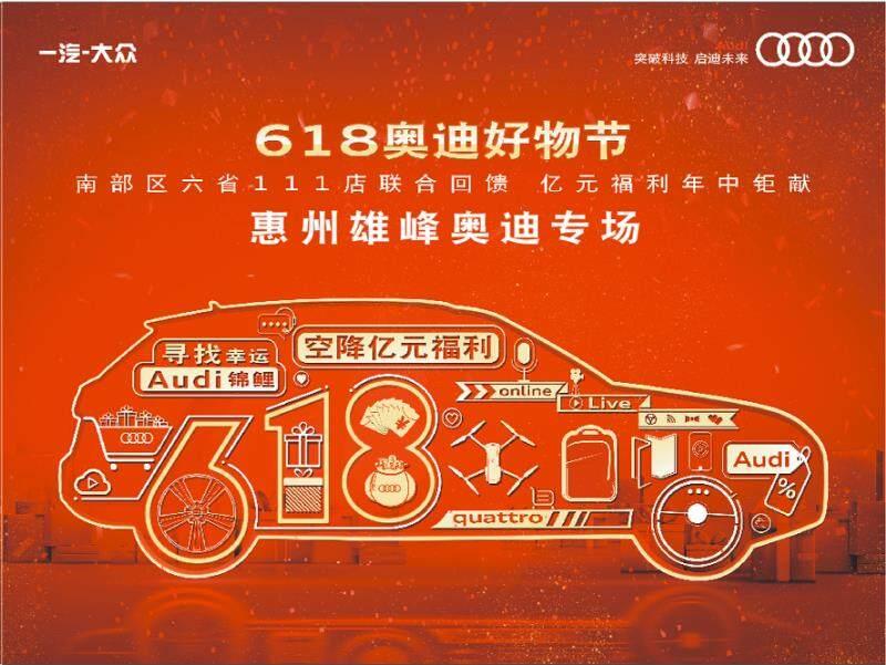 雄峰奥迪 618好物节