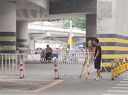 鹅岭立交桥改造项目准备动工了,预计8月