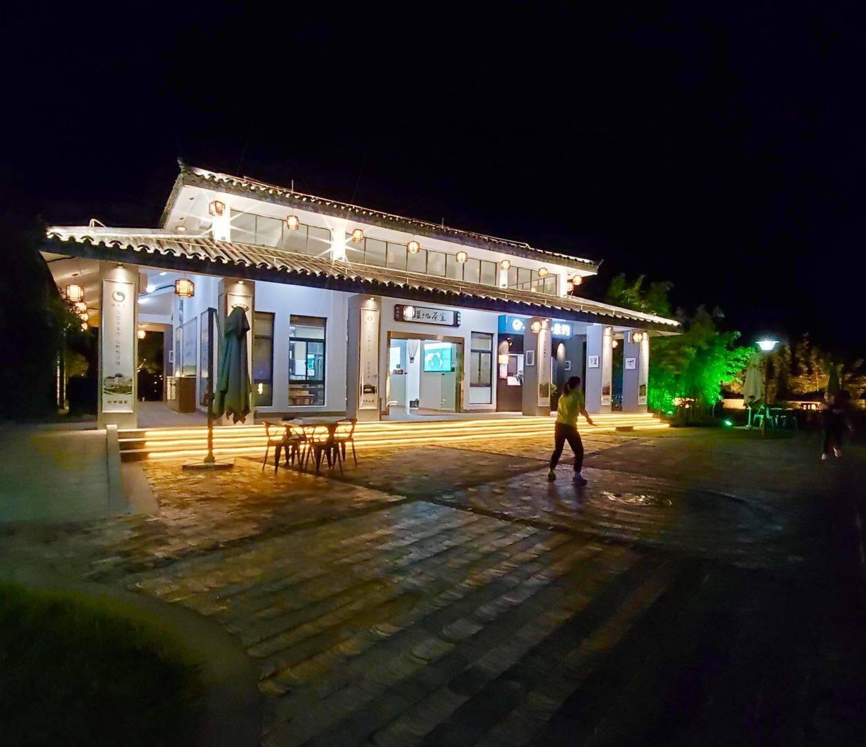 【国庆游】夜游长沙松雅湖,欣赏美景