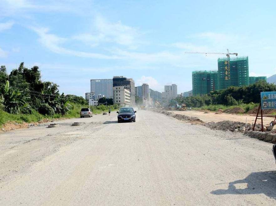 双向6车道去惠东人民医院这条路有新进展