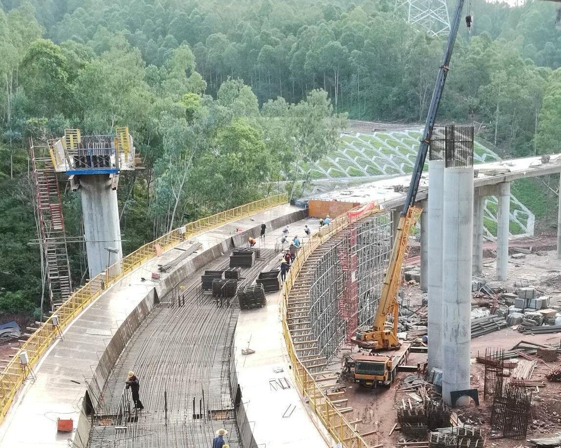 最新!河惠莞高速惠环段收费站建成这样了