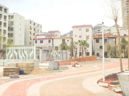 平山又一个街头公园月底完工,有地下停车场